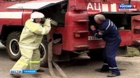 Пожарные области соревнуются в профмастерстве