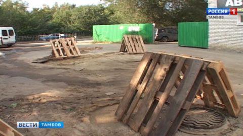 Из-за строительства ливнёвки продлили ограничение движения