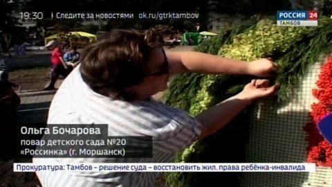 В день города Моршанска его жителей и гостей знакомили с купеческими традициями
