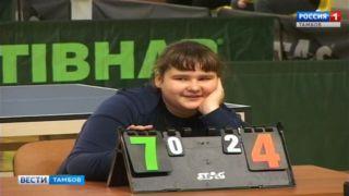 «Тамбовская ракетка»: в областном центре прошел открытый чемпионат области по настольному теннису