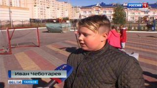 Забить «волку» и научиться жонглировать: хоккеисты провели занятие со школьниками
