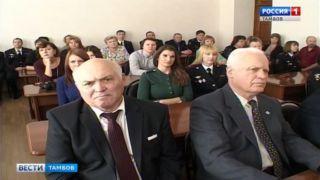 Тамбове чествовали кадровиков МВД