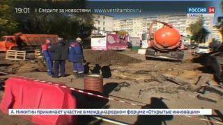 По «Народной инициативе» в центре Тамбова создают сквер