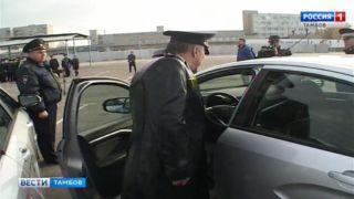 Три десятка новых автомобилей для полицейских
