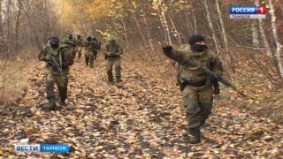 Бойцы Тамбовского отряда «Гром» отмечают первый День рождения
