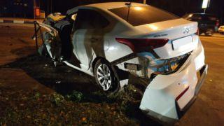 В Мичуринском районе столкнулись три автомобиля: пострадавший в больнице