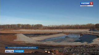 В Никифорвском районе завершают реконструкцию мусорного полигона