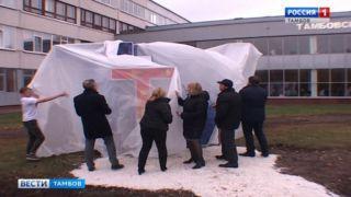 Перед главным корпусом ТГТУ обустроят зону отдыха для студентов