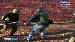 Бойцы спецподразделений УФСИН отметили профессиональный праздник соревнованиями