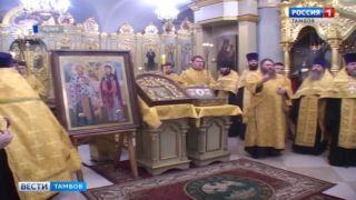 В течение четырех дней верующие смогут поклониться православной святыне