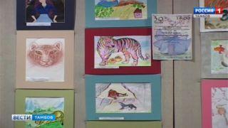 Выставку детских рисунков в Пушкинской библиотеке посетили Советники посольства республики Кореи