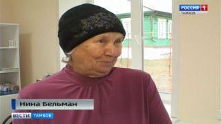Нина Бельман, жительница села Гумны
