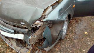 В Мордовском районе иномарка и ВАЗ не поделили дорогу