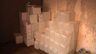 Полицейские выявляют новые точки хранения и продажи контрафакта