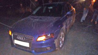 В Тамбовском районе «девяносто девятая» столкнулась с двумя автомобилями