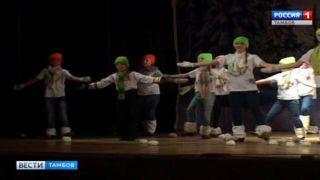 Фестиваль «снежных» танцев в Тамбове