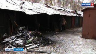 На воре не только шапка горит: как рецидивист спалил в Тамбове несколько гаражей и сараев