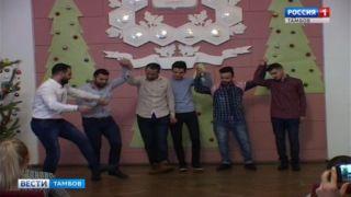 Новый год «шагает» по планете: иностранные студенты ТГТУ отметили праздник