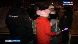 УМВД: новый год жители Тамбовской области встретили спокойно