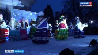 Обыкновенное волшебство в рождественский вечер: в усадьбе Асеевых устроили лазерное шоу