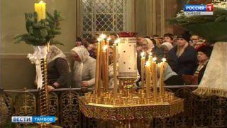 Православные верующие встретили Рождество Христово