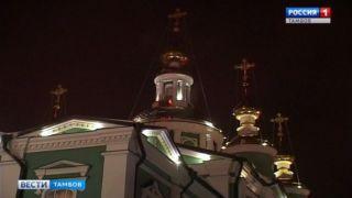 Рождественские торжества в Тамбовской области прошли без нарушений общественного порядка