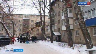 В рождественскую ночь сгорела квартира в пятиэтажке на улице Володарского