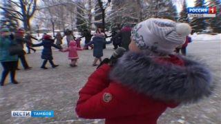«Зимние забавы» помогли школьникам продлить новогоднее настроение