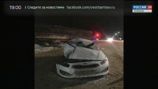 В Татанове МАЗ протащил KIA Ceed полсотни метров: водитель «легковушки» погиб