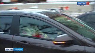 За две недели нового года в области произошли 8 ДТП с детьми-пассажирами