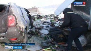 Двое погибших в аварии на трассе Тамбов-Воронеж