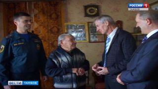 И в 94 года ветеран пожарной службы Николай Подшивалин верен спорту