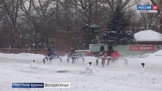 На тамбовском ипподроме разыграли «Зимний Дерби»