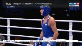 Илья Попов признан лучшим боксёром страны