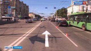 Перекрёсток Советской и Чичканова в Тамбове могут оборудовать инновационными ограждениями