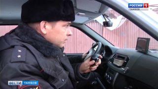 Тамбовские полицейские задержали ночного грабителя по горячим следам