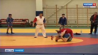 В Тамбове разыграли медали первенства области по самбо