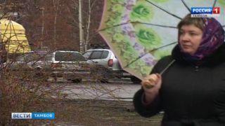Тамбовчан заставили расчехлить зонты
