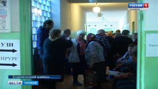 В Знаменке врачи автопоезда «Забота» продолжают прием пациентов