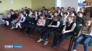 Тамбовские первоклассники сыграли в кукловодов