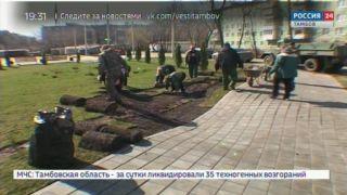 В сквере на Володарского приступили к устранению несовершенств