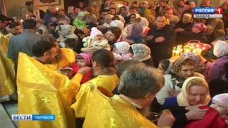 Храм Серафима Саровского на севере Тамбова открыл двери для прихожан