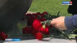 Полицейские почтили память, погибших на фронте солдат правопорядка