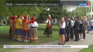 День Победы в «Мире»: тамбовские школьники пели песни о войне и отвечали на вопросы по истории Великой Отечественной