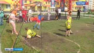 Серьезная мужская игра: дошкольники Тамбова разыграли Кубок по мини-футболу