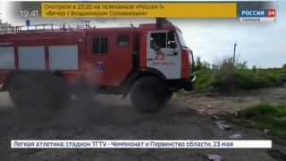 Почему загорелся мусор в Дмитриевке?