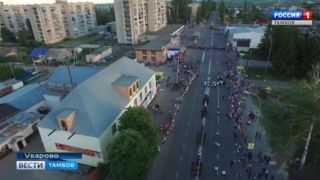 По улицам Уварова промаршировали самые музыкальные кадеты