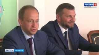 Итоги визита: Александр Никитин встретился с представителем ЦИК Евгением Шевченко