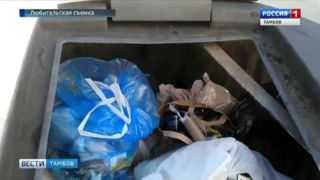 Горы мусора выросли в Тамбове