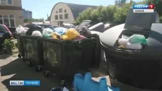 С каждым днем лета мусора в Тамбове становится все больше